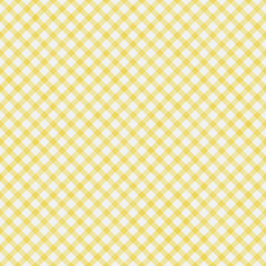 Pale Yellow Gingham Pattern Repeat Background
