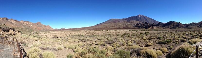 panoramica del Teide en Tenerife