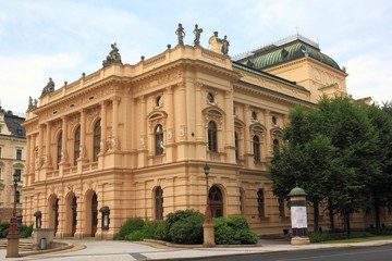 Theater in Liberec, Czech Republic built in 1871-1872
