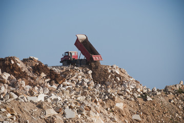 Truck and Mining dump