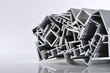 canvas print picture - Aluminium-Profilleisten