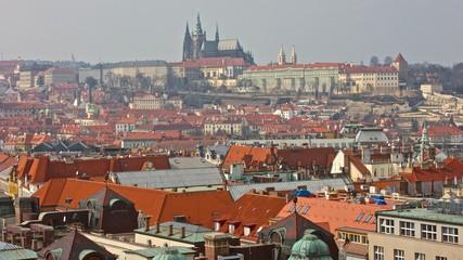 Blick auf die Prager Burg