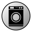 Washing machine button