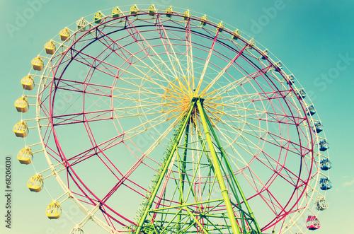 Papiers peints Attraction parc Ferris wheel vintage