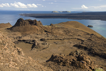 Volcanic landscape - Bartolome - Galapagos Islands