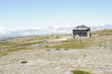 Lodge on the top of Torre -  the highest point of Portugal