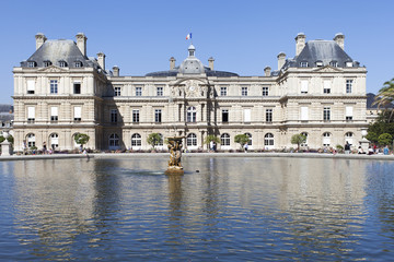 Luxembourg palace, Paris.
