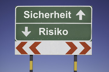 Sicherheit, Risiko