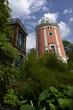 canvas print picture - Botanischer Garten mit Elisenturm