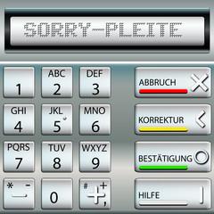 Geldautomat Pleite