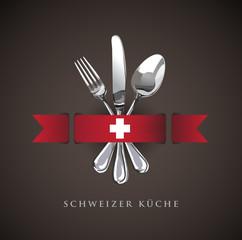 Swiss Restaurant Catering Gastroservice Logo