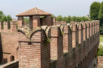 Ghibelline merlons, Soncino Castle