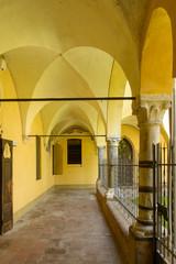 san Giacomo cloister arcade, Soncino