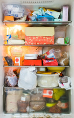 refrigerator dirty