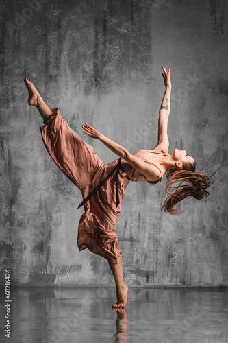Fotobehang Dans modern dance