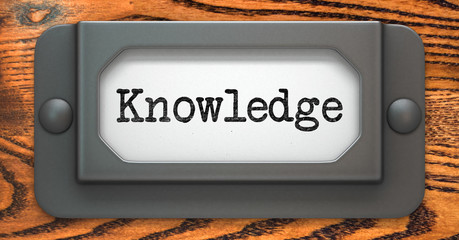 Knowledge Concept on Label Holder.