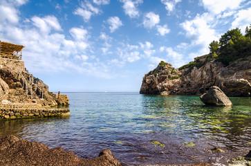 Cala Deia beach