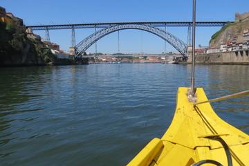 Portugal Porto - Vila Nova de Gaia - Pont Dom-Luis et Douro