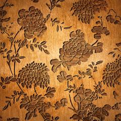 Oriental wooden texture background