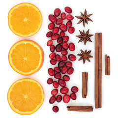 Cranberry Orange and Spices
