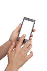 beyaz cep telefonu