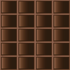 Chocolate dark tiles seamless texture