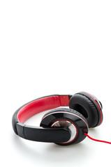 Headphone isolated on white
