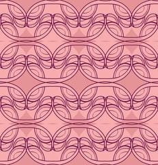 Purplish pink lace pattern.