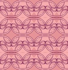 Purplish pink lace pattern.