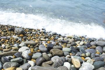 round smooth stones