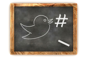 Blackboard Hashtag Social Media