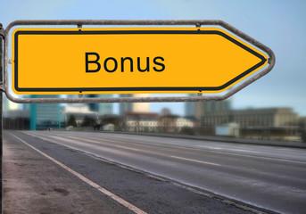 Strassenschild 14 - Bonus