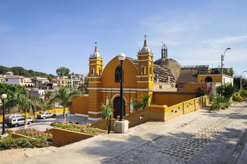 The oldest church in Lima, Peru