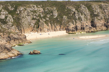 View of Porthcurno, Cornwall, England