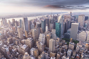 Aereal view of Manhattan