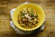 Tagliatelle ai porcini Cucina italiana Italian cuisine 義大利菜