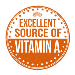 Excellent source of vitamin A stamp