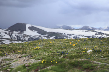 Incoming Storm At Rocky Mountain National Park
