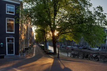 Beautiful afternoon in Amsterdam