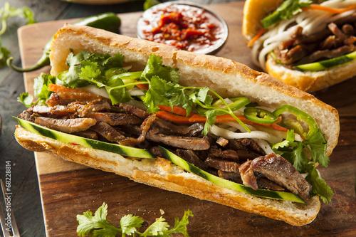 Vietnamese Pork Banh Mi Sandwich - 68228814