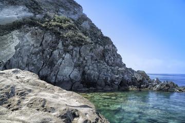 View of SantAngelo in Ischia Island