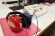 Leinwandbild Motiv Hearing screening and check equipment
