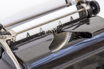 Detail of Typewriter