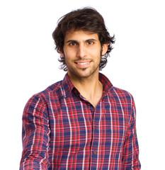 satisfied Hindu young man