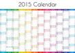 2015 Calendar - ENGLISH VERSION