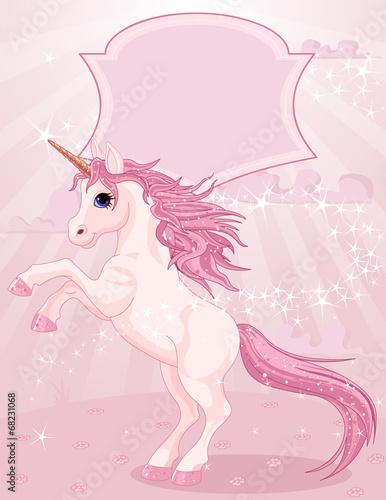 Magic unicorn Plakát