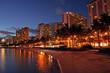 Waikiki Beach, Honolulu, Oahu, Hawaii..