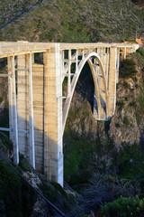 Bixby Bridge, Big Sur, california, USA..