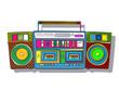 Pop Art boombox