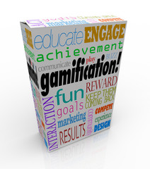 Gamification Product Package Box Gamify Your Education or Market